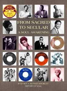 A 36-page booklet accompanies the 8 CD History of Soul anthology.